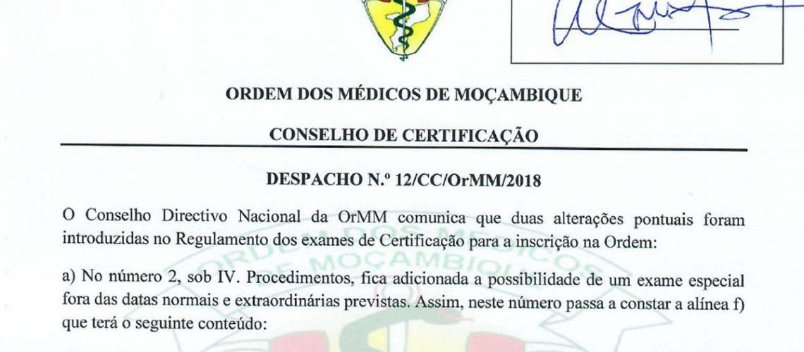 DespachoNr12CCOrMM2018