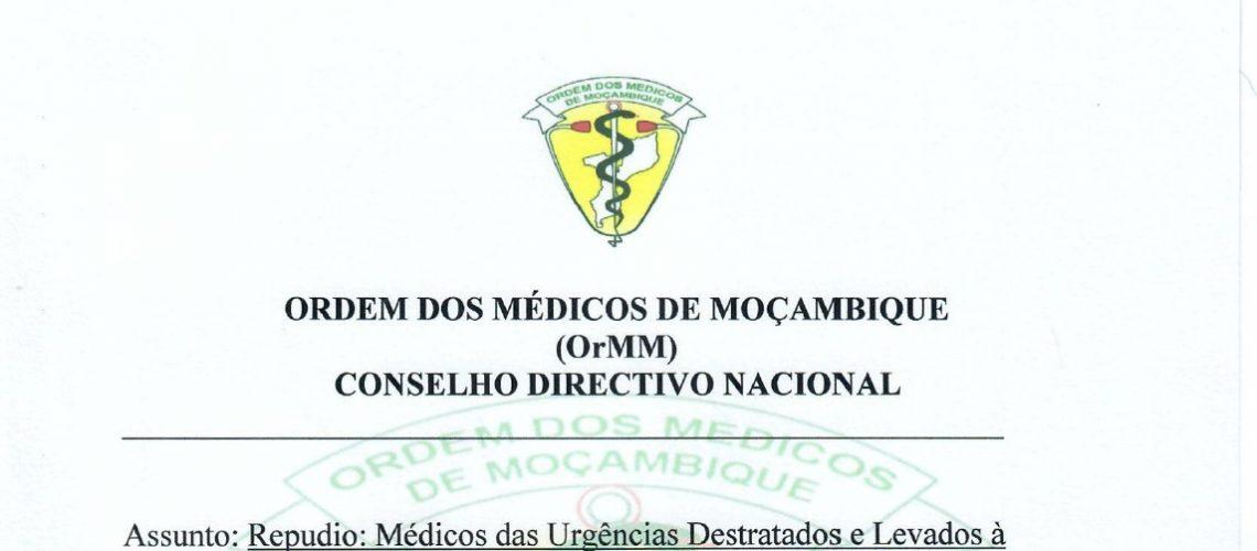 Repudio- MedicosDasUrgenciasDestratadosELevadosaEsquadraPolicial